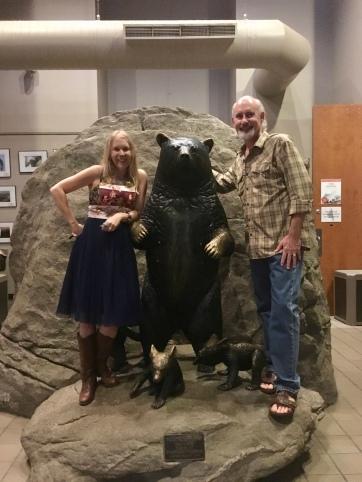 Chris with Leigh Ann Henion at Grandfather Mountain