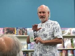Reading at Highland Books, Brevard, NC