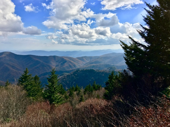 "Mount Mitchell ""peeks"" (Highland)"