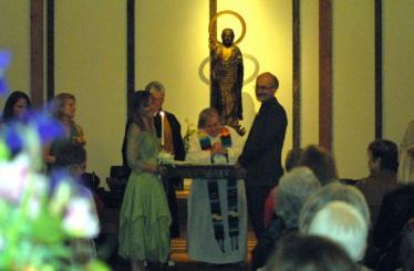 My Own Wedding (Buddhist Zendo with Buddhist, Christian, Jewish and Wiccan celebrants)