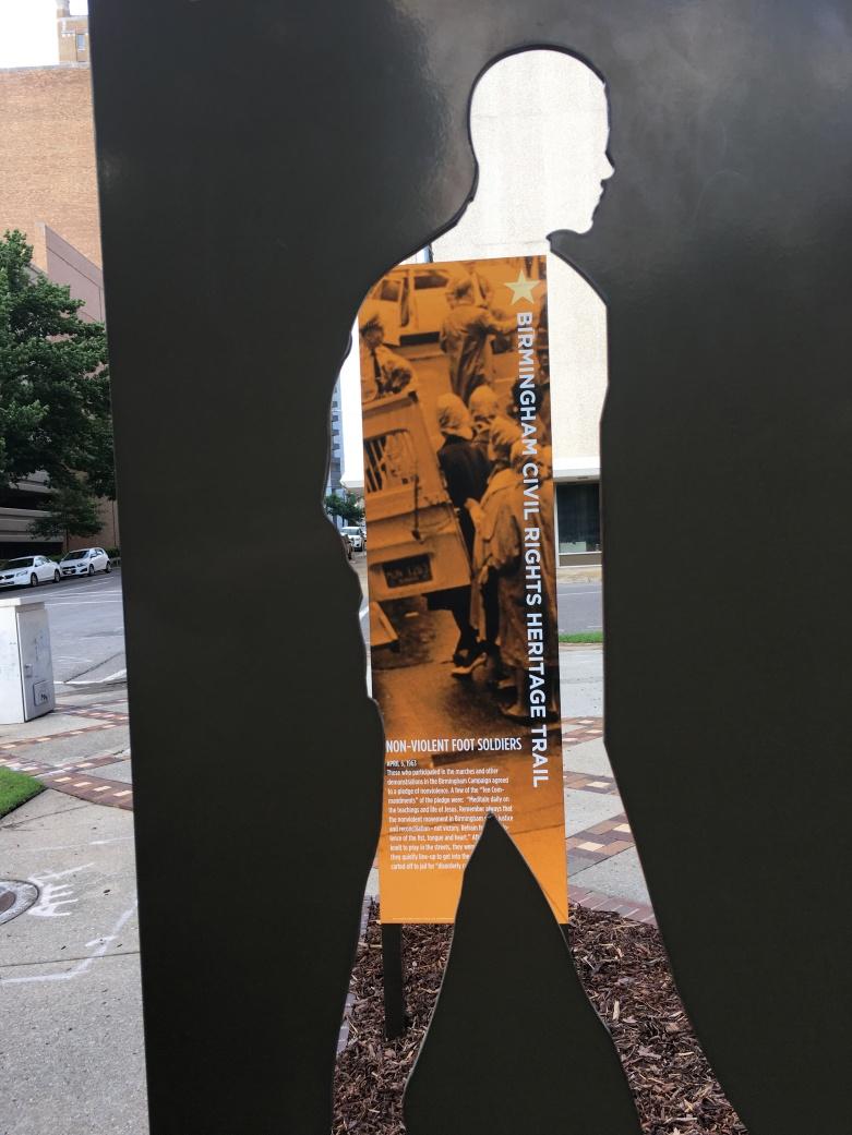 Civil Rights walk, Birmingham, AL