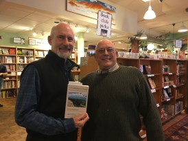 Author Chris with Publisher Andy