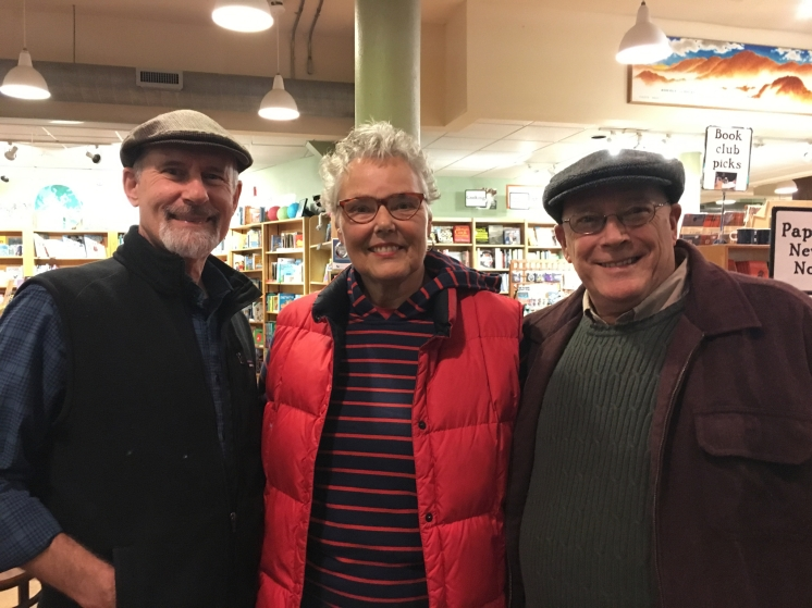Chris with fellow author Robin Gaiser and Andy Reed