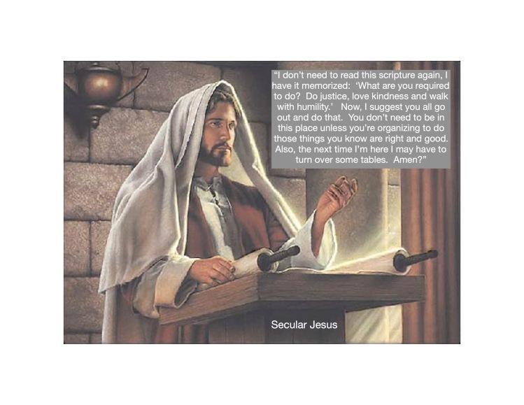 Secular Jesus-Sanctuary