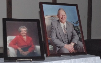Mabel and Bob (Chris' late parents)