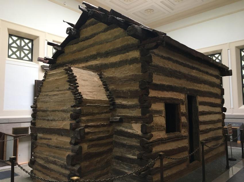 Abe's Birth Cabin (replica)